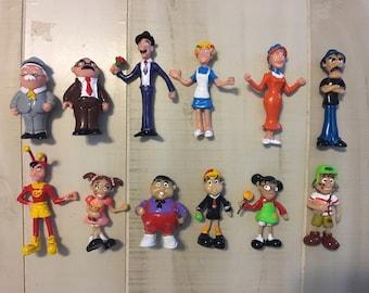 El Chavo de Ocho Plastic Mexican Favor Game Toy