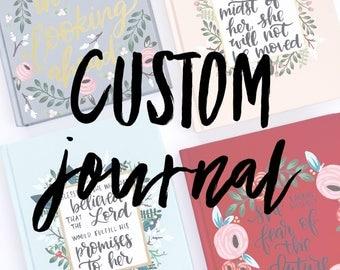Customizable Hardcover Journal