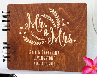 wedding guest book etsy