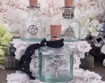 Potion Bottles, DIY Your Own Spell Bottle