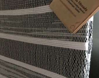 New Handwoven French-Canadian Twin Catalogne Blanket