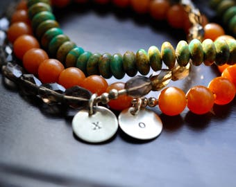 Gemstone Charm Bracelets, Add A Charm, Sterling Silver