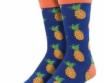 Mens Pineapple Socks
