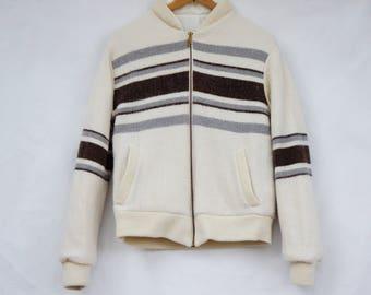 Vintage 80s-90s Reversible Bomber Jacket/Activewear/Retro