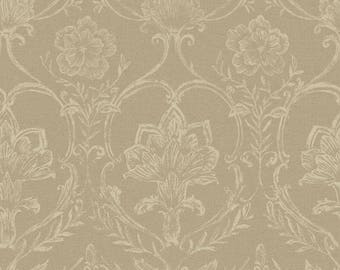 KC1818 Sheer Fabric Damask Wallpaper
