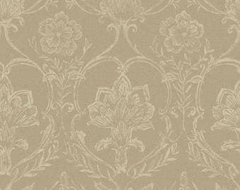 KC1818 Sheer Fabric Damask Wallpaper