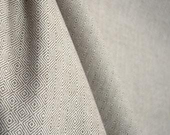 D2993 Hanover Oyster Diamond Fabric