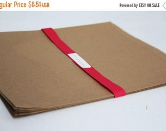 ON SALE Kraft Paper Bags 12 x 15 Lot of 25