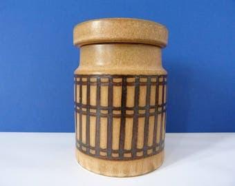 Vintage Surrey Ceramics storage jar