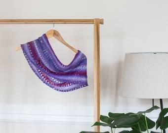 Handknit Cowl - Polwarth Wool