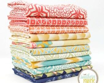 Botanique by Joel Dewberry -11 Half Yard Bundle Quilt Fabric - Free Spirit