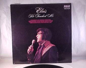 Elvis Presley - 33 LP - He Touched Me