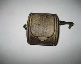 antique Twinplex razor blade sharpener
