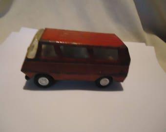 Vintage Tonka Metal Red Van, collectable