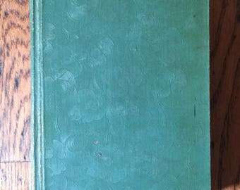 Vintage 1924 First Edition Zane Grey Call of the Canton Book