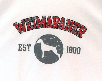 Womens TANK TOP Weimaraner Dog Choose Size and Color 17437