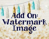 Watermark Image - Add a Watermark to your Etsy and Facebook Business Set, Etsy Watermark Logo, Made 2 Match