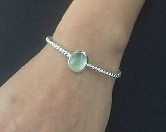 Aquamarine cuff bracelet, aquamarine cuff bracelet in silver, designer inspired aquamarine cuff bracelet, silver cuff, silver bracelet, uff