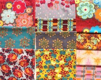 Lou Lou Flannels Anna Maria Horner fabric 11 FQ set OOP HTF