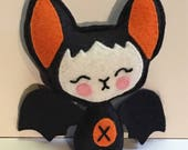 Halloween Kawaii Felt Bat Plush Plushie Art Doll