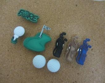 Golf Push Pins