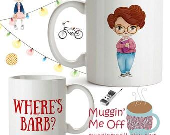 Where's Barb? | Mug | Stranger Things | Cup | Eleven | 11 | The Upside Down | Eggo | Sci Fi | Birthday | Christmas