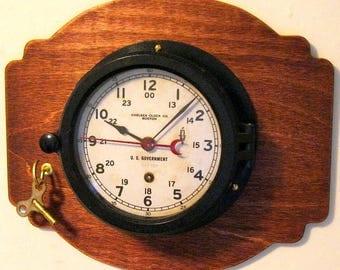 Chelsea Ships Clock - Korean War - 1950-54