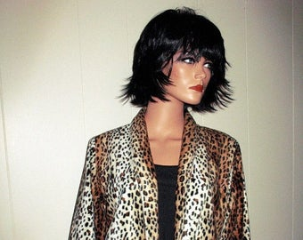 Radical FAUX FUR Leopard Retro  Jacket