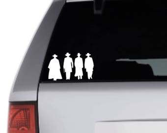 Tombstone Inspired Vinyl Decal Sticker