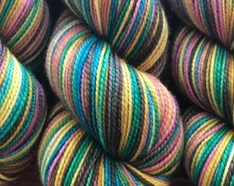 As You Like It, 6 Color Stripey... Canon Hand Dyes Charles  Self Striping Yarn