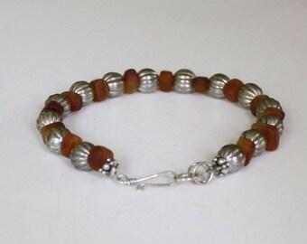 Handmade Bracelet, Sterling findings