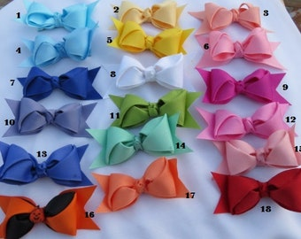 Boutique Hairbow  PICK YOUR COLOR Hairbow