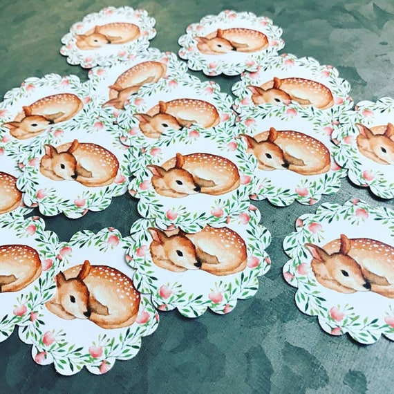 Baby Deer Fawn Stickers