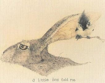 A little bird told me