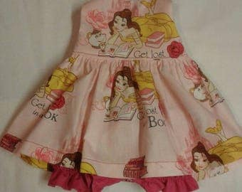 """Baby Alive  And Waldorf Doll Clothes Adorable Dress 10"""" 12"""" Or 15"""" Disney Beauty and The Beast"""