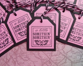 Little Somethin' Somethin' - Sweet Treats - Goodies - Gift/Hang Tags (12)
