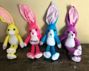 Easter basket gift etsy easter bunny easter basket gifts easter gift personalized gift negle Images