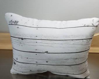 Lumbar pillows wood pillow rustic chic throw pillow cushion birthday gift for him cotton pillows minimal bedroom pillow lodge home decor