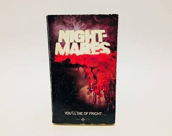Vintage Horror Book Nightmares -Charles L. Grant 1979 Paperback Anthology