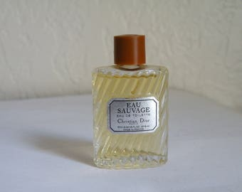 Christian Dior Eau Sauvage EDT 10 ml. France. For men.