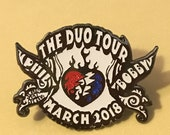 Bobby Phil Duo Tour glow in the dark hat pin