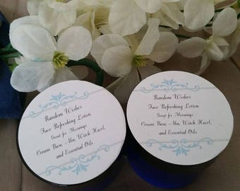 Face refresh, face lotion, cream, instant results, toning, cleasing, revitalizing, Natural