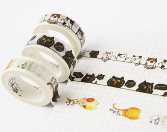 Japanese Washi Tape- Masking Tape- Planner Stickers-Decorative Stickers