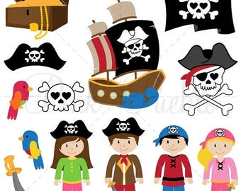 BACK TO SCHOOL Sale Pirate SVGs, Pirate Cutting Templates - Commercial and Personal Use