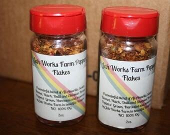 Heirloom Pepper Flake Mix 100% Naturally Grown