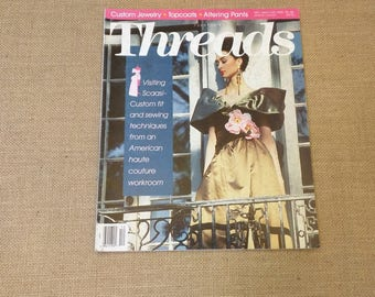 Threads Magazine December 1991 January 1992 Back Issue Number 38