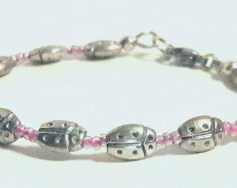 Lady Bug Bracelet - Children's