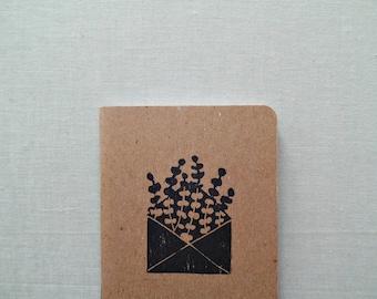 Gratitude journal, Dream journal, Happy mail notebook, Cute notebook, Little gifts, Thank you gift for women, Writer gift,  Writing journal