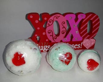 Vanilla Rose Bath Bombs