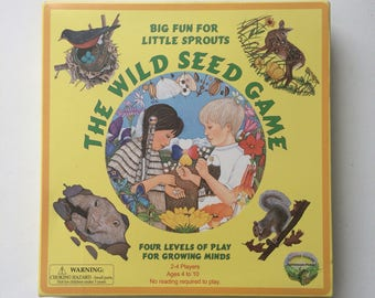The Wild Seed Game from Ampersand Press 1998 Complete New Rare